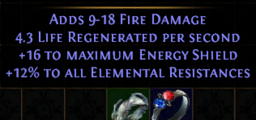 Prismatic Ring Recipe